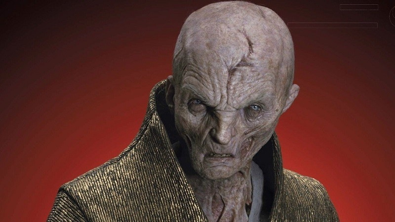 snoke star wars episodio ix