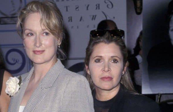 Leia Star-Wars-9 Meryl Streep Carrie Fisher