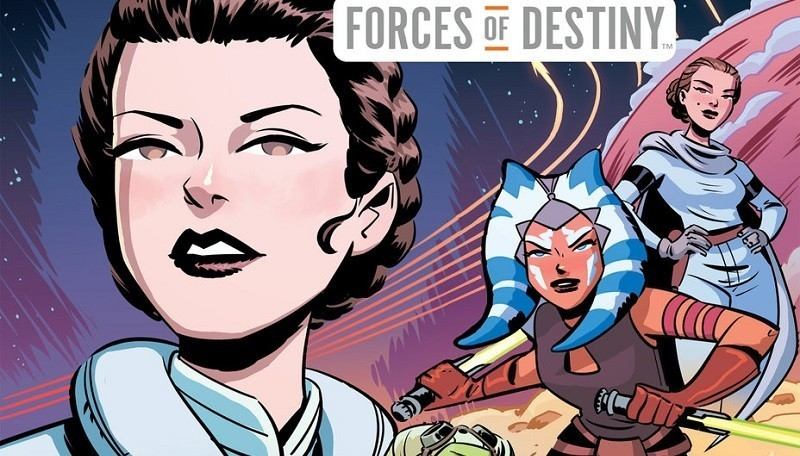Star Wars Adventures Forces of Destiny volume