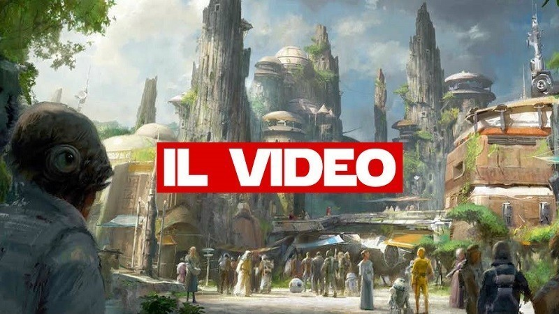 Star Wars Galaxy's End disneyland land video youtube parco