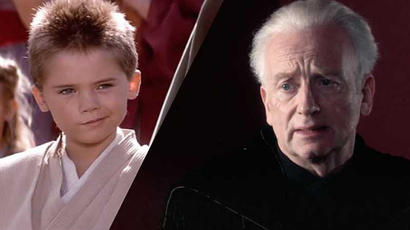 Star Wars Palpatine piccolo Anakin Skywalker addestramento Sith