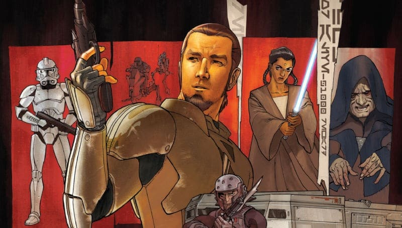 Star Wars Rebels Kanan Jarrus origini fumetto marvel panini comics gazzetta