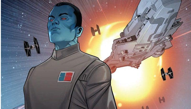 Star Wars Thrawn #2 anteprima fumetto panini comics marvel comics