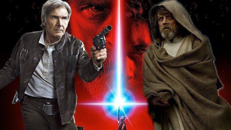 Star Wars mark hamill scena tagliata luke han solo