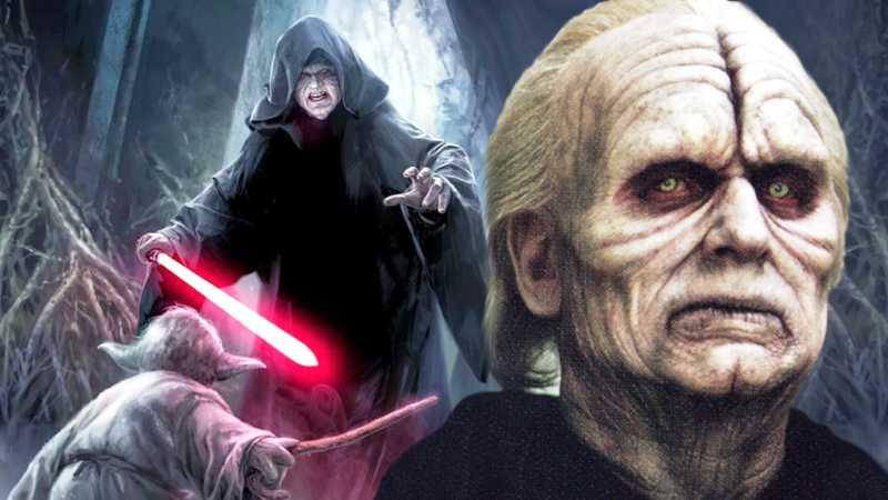 Star Wars darth sidious palpatine storia dei sith imperatore regola dei due