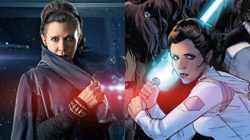 Star Wars: tutte le volte che la Principessa Leia ha usato la Forza