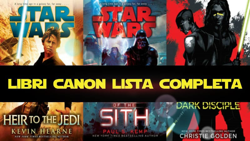 Star Wars Libri Canonici: lista completa con i romanzi pubblicati in Italia da Multiplayer Edizoni