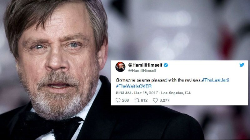 Star Wars Ep.IX. Niente trailer al Super Bowl? Mark Hamill rimedia così…