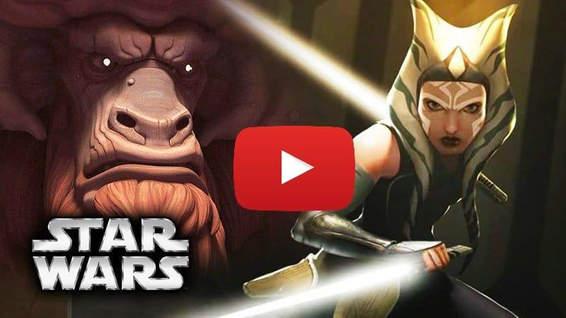 star wars rebels ahsoka bendu scena tagliata video