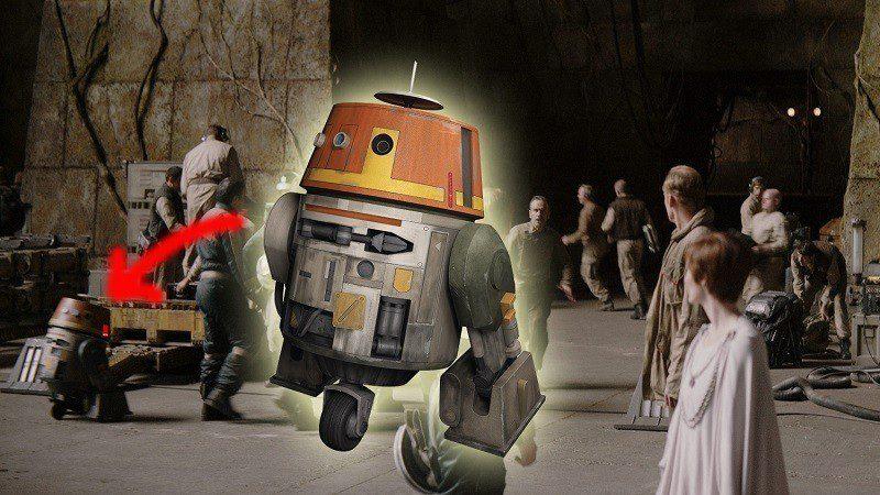 star wars rebels chopper rogue one doppiatore dave filoni
