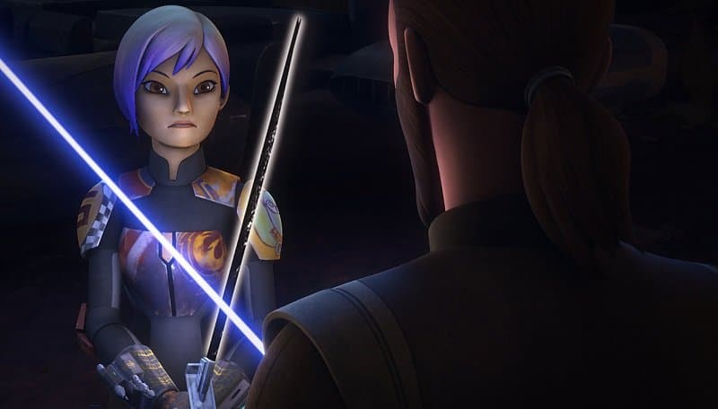 star wars rebels sabine wren force user forza kanan
