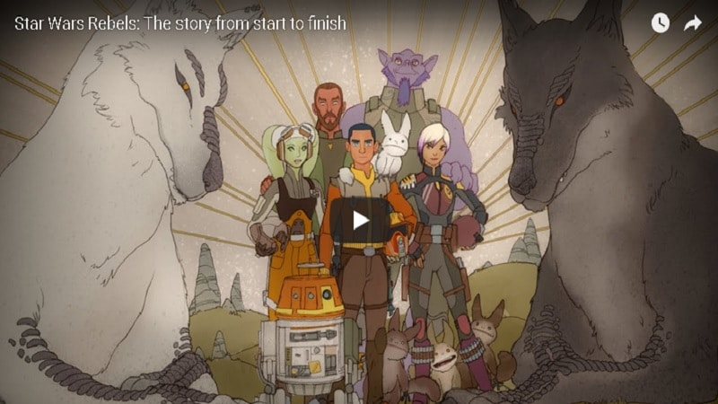 Star Wars Rebels: tutta la serie in un video di 20 minuti