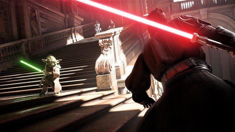 star wars reggia di caserta trilogia prequel battlefront