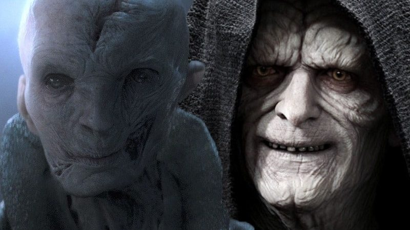 star wars episodio ix snoke palpatine imperatore leader supremo