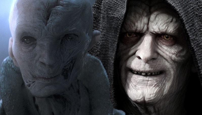 Star Wars: Snoke più potente dell'Imperatore Palpatine? Ecco perché secondo Nerdist sì!
