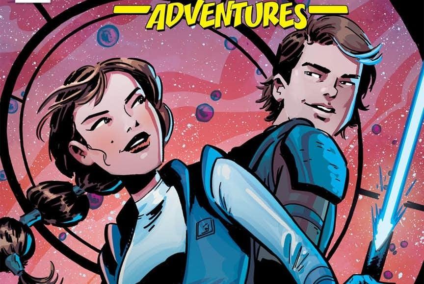 Star Wars Adventure 12 IDW Publishing Padme Anakin