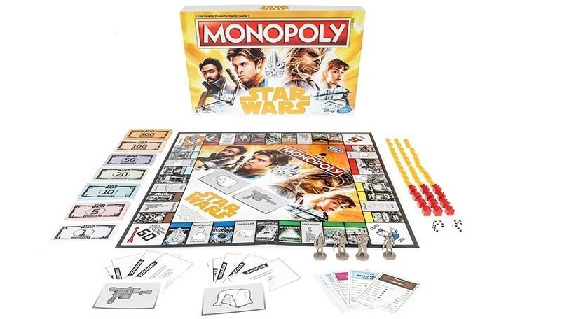 Star wars monopoly nuovo solo