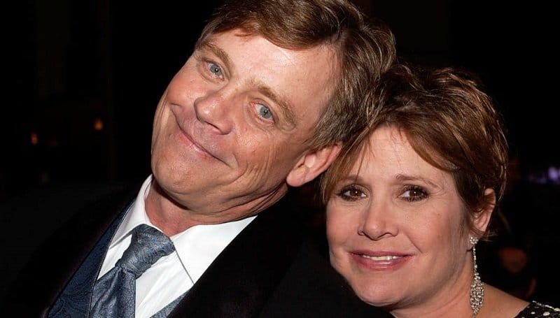 mark hamill carrie fisher star wars