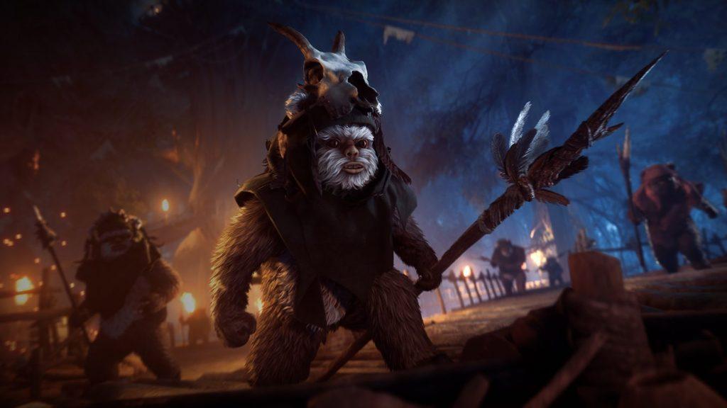 Star Wars Battlefront II: si potranno usare gli Ewok nel videogame EA. Tutto sul nuovo aggiornamento