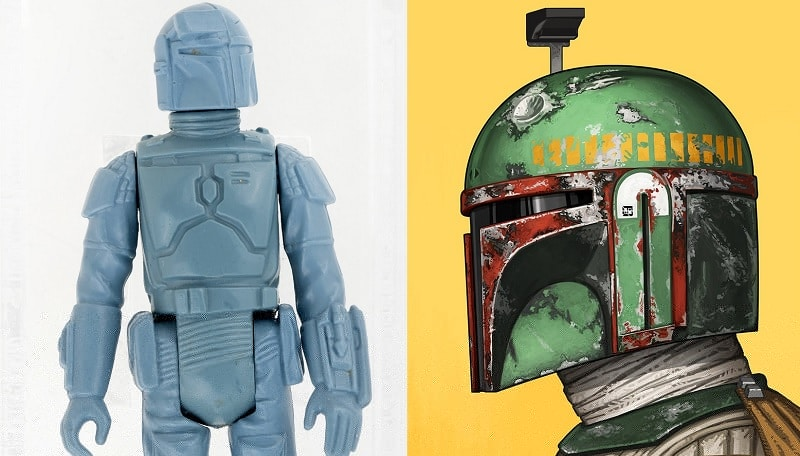 Star Wars - Boba Fett action figure venduta all'asta al prezzo di $86,383.47