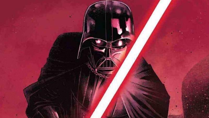 star wars fumetti darth vader