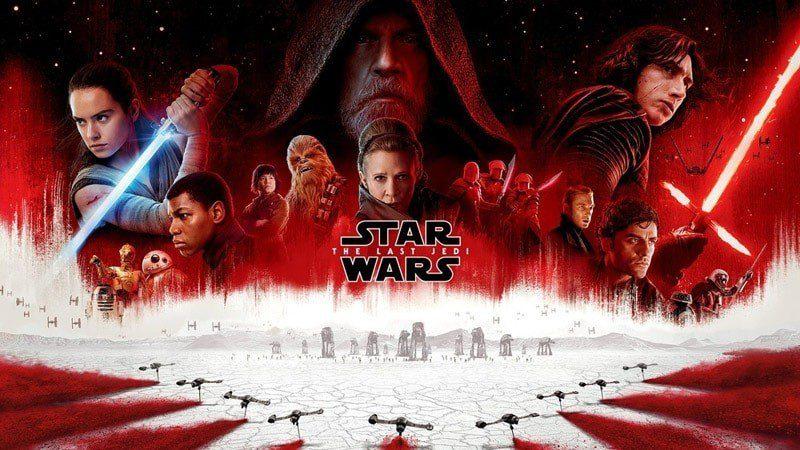 Star Wars gli ultimi jedi logo poster italia