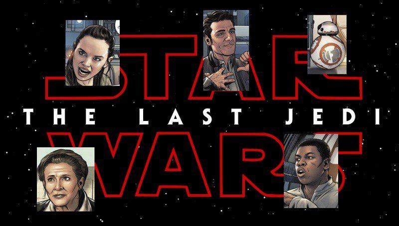 Star Wars Gli Ultimi Jedi continuerà in un fumetto Marvel. Svelate già le prime tavole