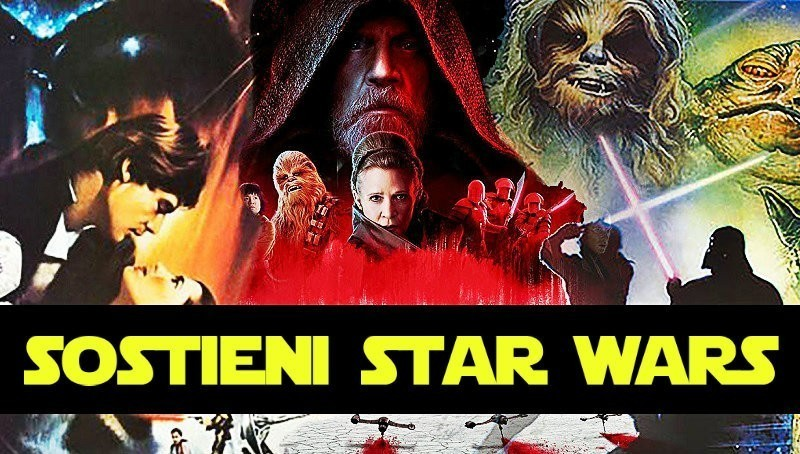 """Star Wars: contro i boicottaggi arriva l'iniziativa """"sostieni Guerre Stellari"""""""