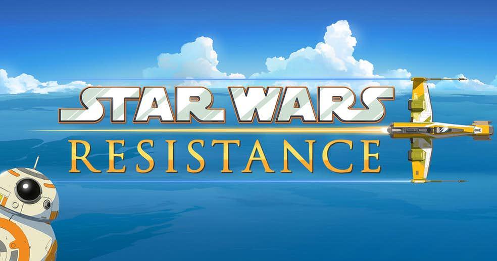 star wars resistance serie tv guerre stellari animata