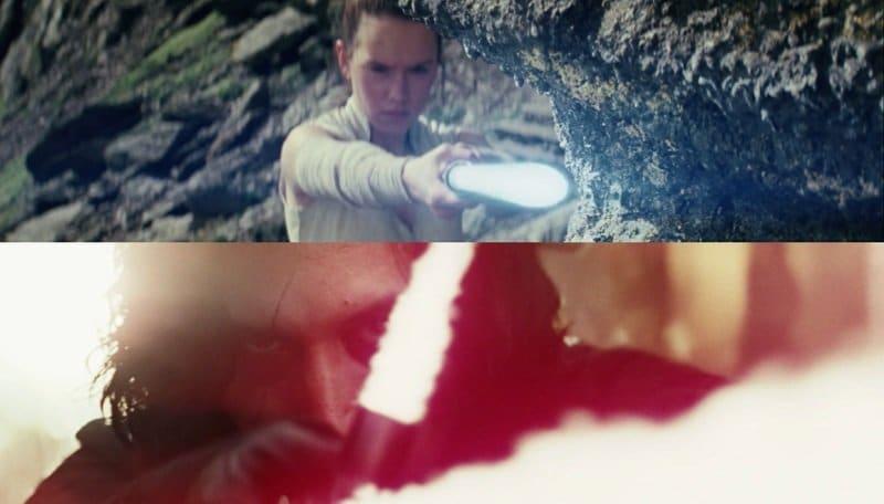 Star Wars: Rey copia Kylo Ren nello stile di combattimento. Tutte le scene che lo dimostrano