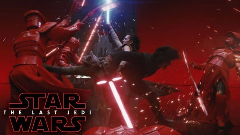 star wars the last jedi errore rey