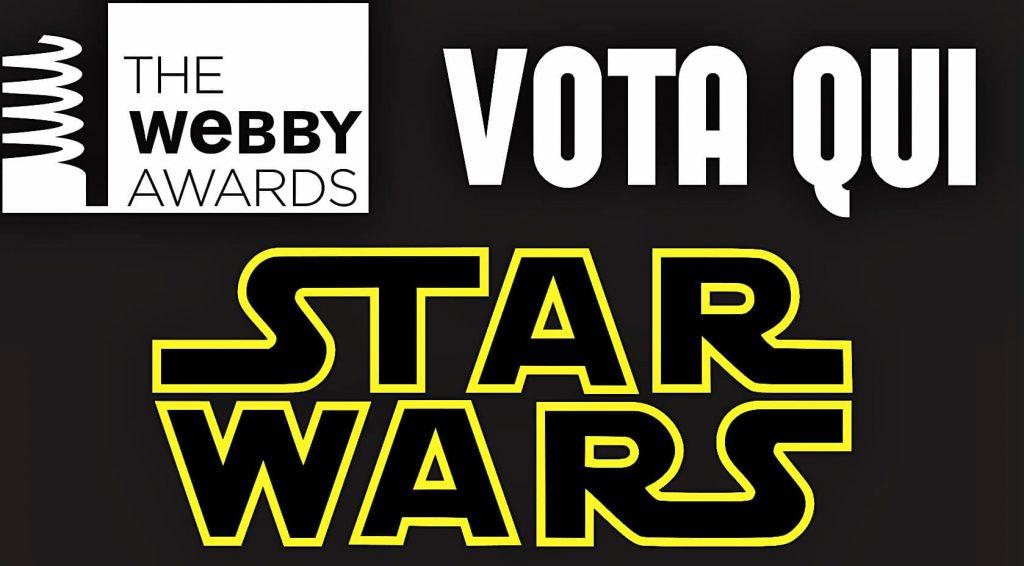 webby awards 2018 vota star wars