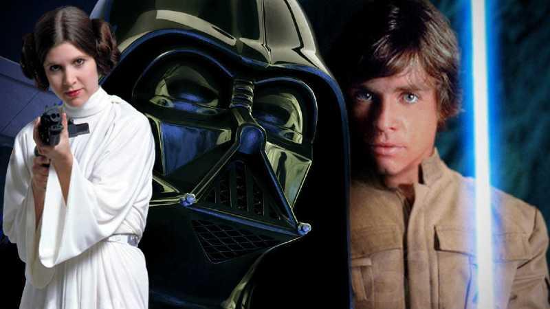 Darth Vader Luke Skywalker Leia Organa