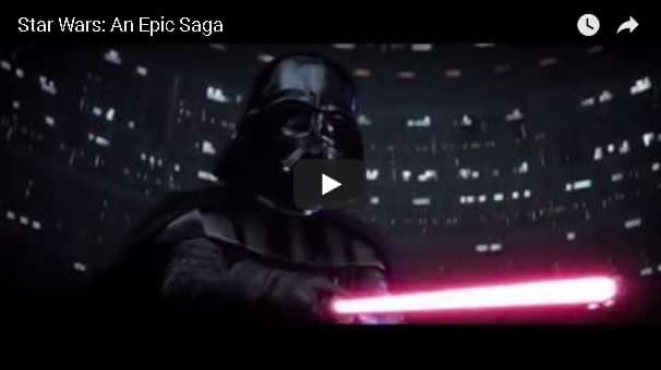 Star Wars An Epic Saga video fan tributo
