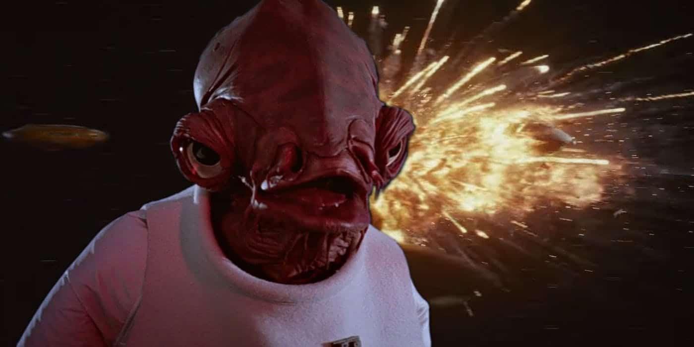 Star Wars: svelate le ultime parole dell'Ammiraglio Ackbar prima della morte