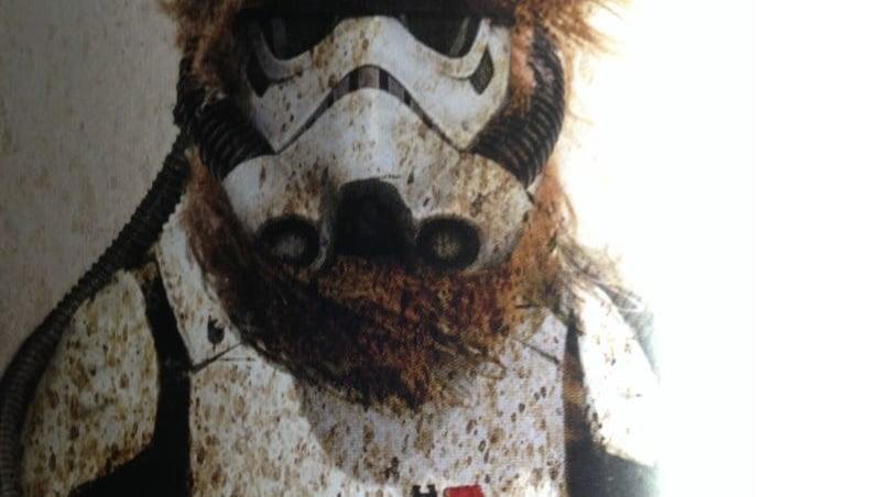 Star Wars: svelati stormtrooper Wookiee nel libro The Art of Solo Book
