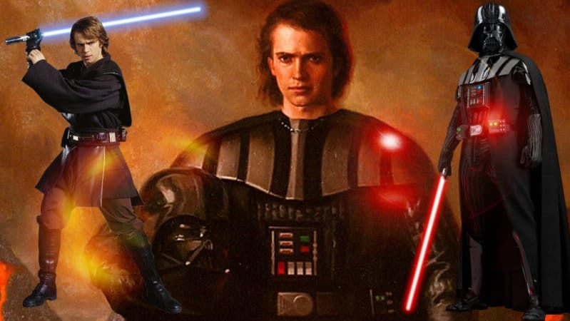 Star wars darth vader anakin skywalker