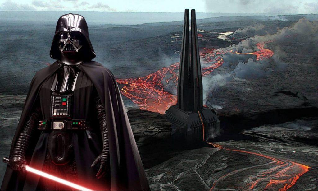 Darth Vader fortezza marvel