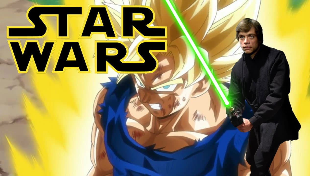 Dragon Ball ha copiato Star Wars? Un video riassume i punti di contatto tra i due cult