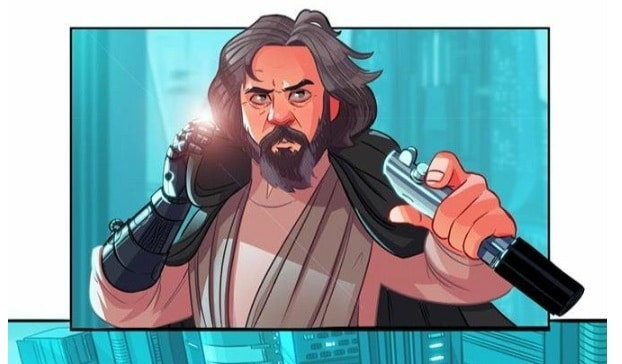 star wars 7.5 the complete saga Stephen Byrne fumetto