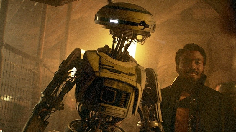 Star Wars: L3-37 è una idea di George Lucas? Ecco cosa si è scoperto