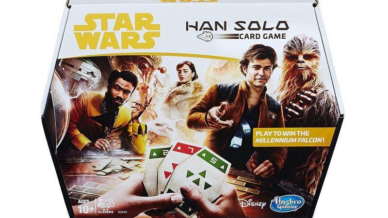 star wars han solo gioco di carte