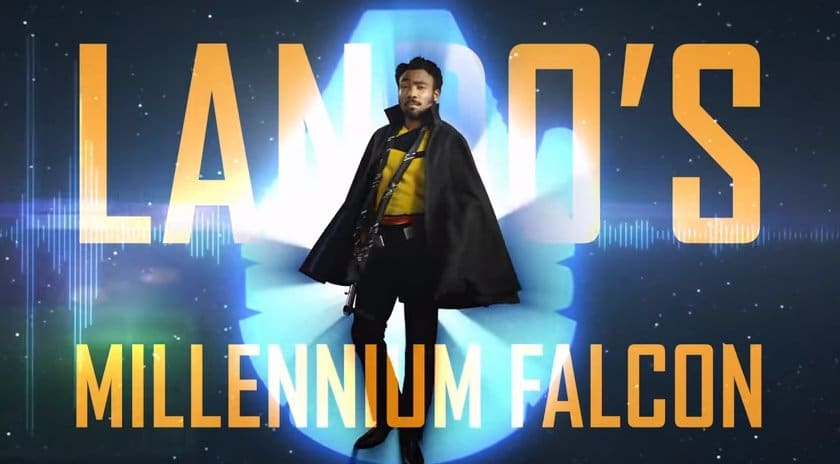 Star Wars: guarda il video con la visita al Millennium Falcon guidata da Lando