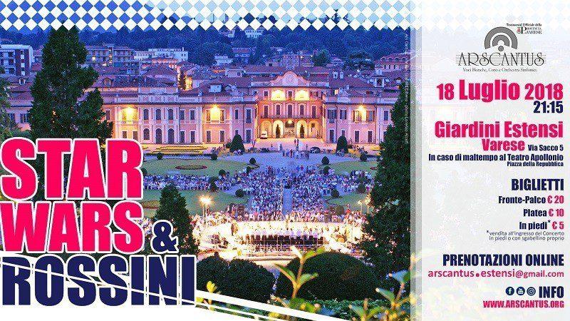 Suite da Star Wars a Varese. Tutte le info sul concerto organizzato da Ars Cantus