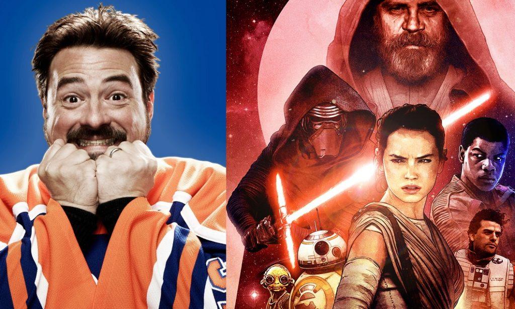 """Kevin Smith sul set di Star Wars IX: """"fantastico e ho pianto per una scena"""""""