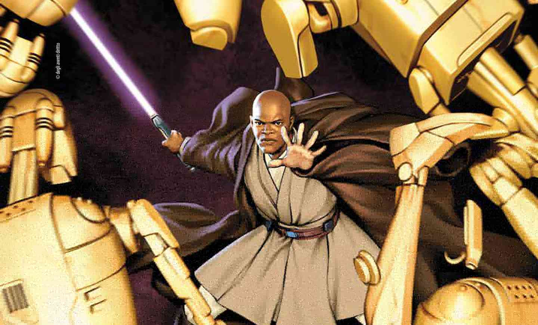 Mace Windu - Panini pubblica la serie Star Wars Jedi della Repubblica