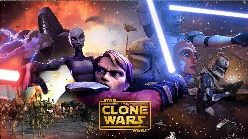 Star Wars The Clone Wars Ordine Cronologico canone george lucas dave filoni