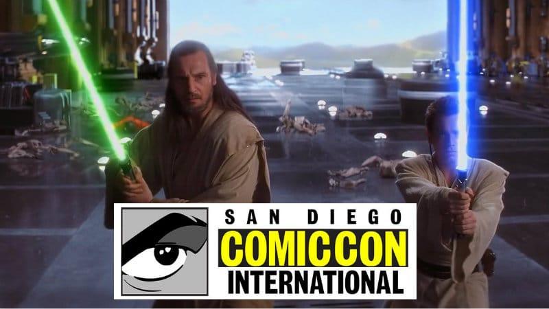 SDCC 2018 Qui-Gon e Obi-Wan star wars libri fumetti