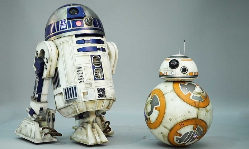Star wars BB-8 & R2-D2