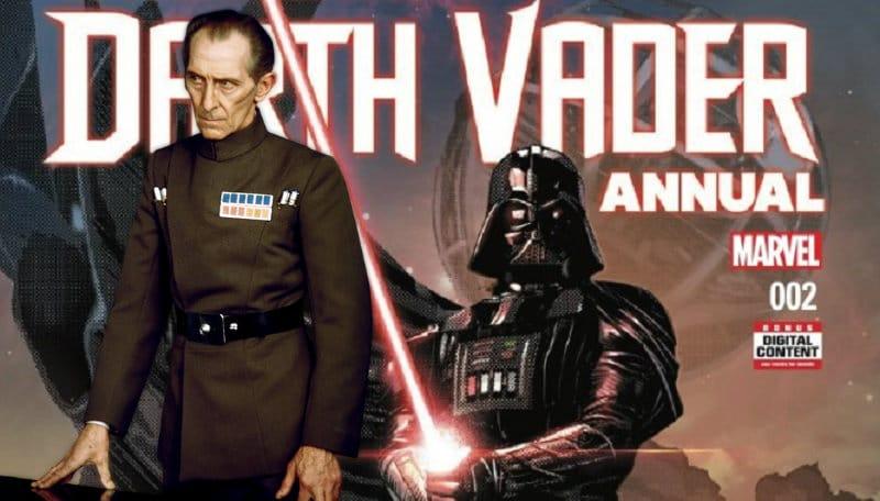 Darth Vader Annual 2: nell'anteprima Tarkin sfida il Signore dei Sith